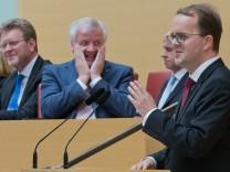 Vereidigung Umweltministerin Ulrike Scharf
