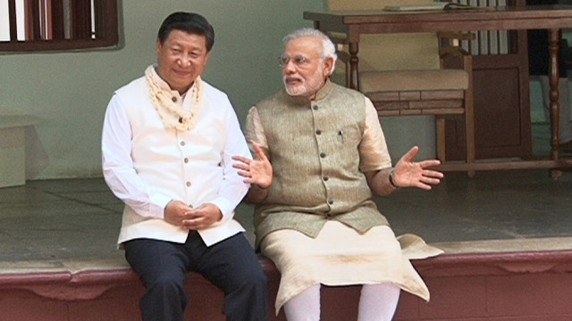 Xi Jingping Chinas Präsident in Indien