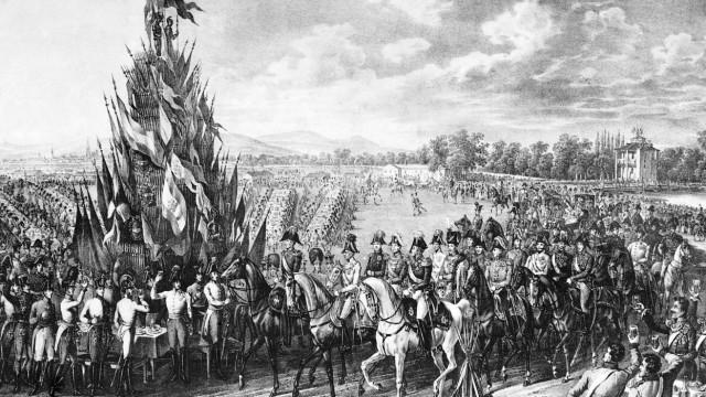 Militärisches Fest im Prater, 1814