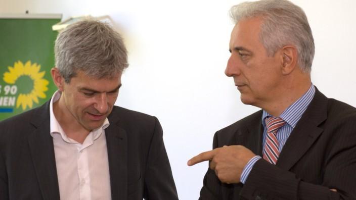 Sondierungsgespräche CDU und Grüne