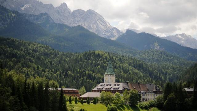 G8-Gipfel G-8-Gipfel auf Schloss Elmau