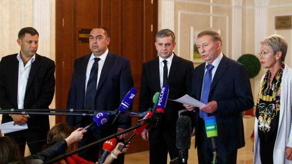 Treffen der Ukraine-Kontaktgruppe