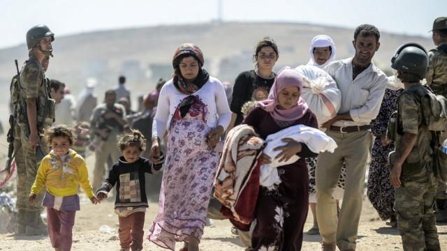 Flüchtlinge aus Syrien