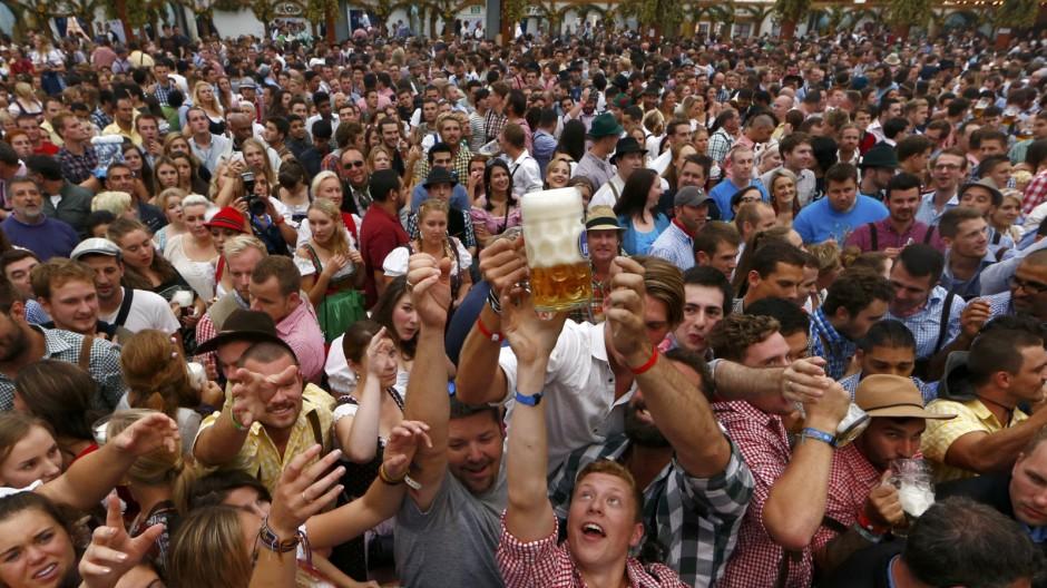 München Das erste Wiesn-Wochenende
