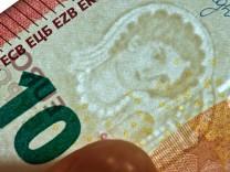 Neue 10-Euro-Banknote wird vorgestellt