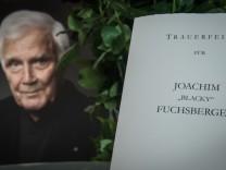 Joachim Fuchsberger Service Of Commemoration