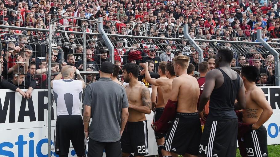 Karlsruher SC v 1. FC Nuernberg - 2. Bundesliga