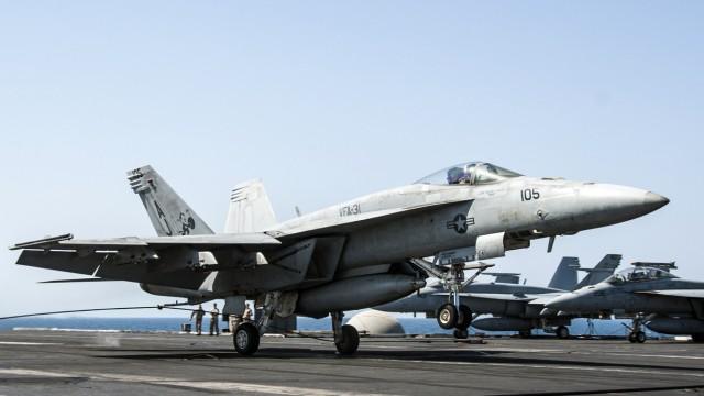 Islamischer Staat Angriffe auf IS in Syrien