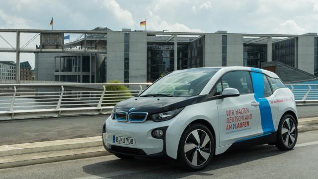 Der BMW i3 ist bisher noch eine Minderheit auf deutschen Straßen.