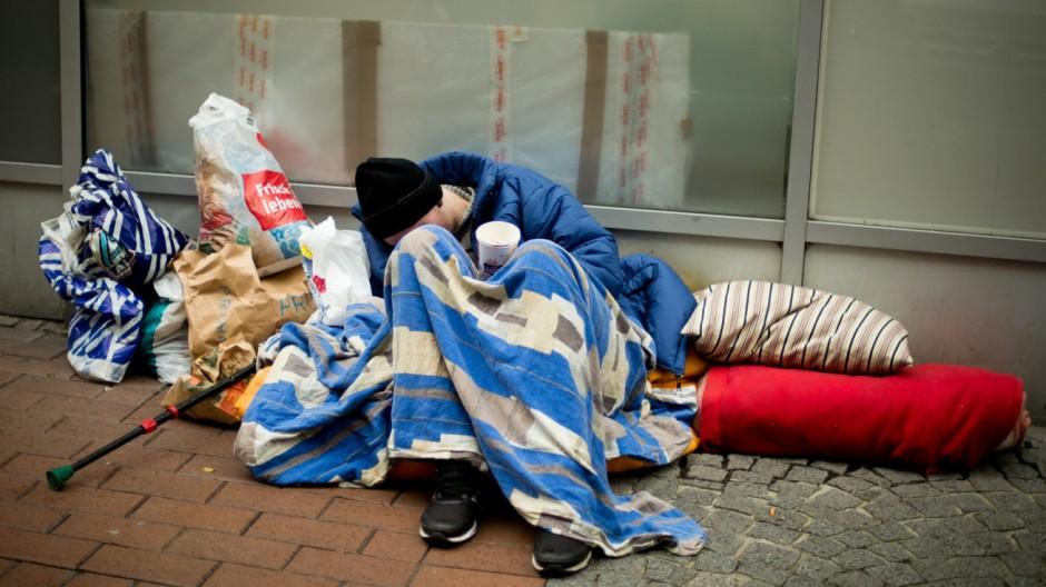 Obdachloser in Dortmund