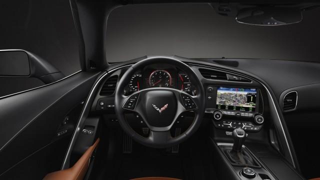 Der Innenraum der Chevrolet Corvette C7 Stingray.
