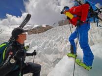 Deutsche Bergsteiger im Himalaya