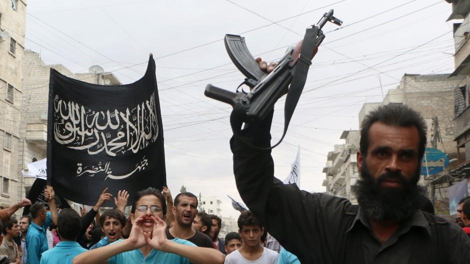 """Islamischer Staat """"Islamischer Staat"""" in Syrien"""