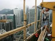 Bauarbeiten in Hongkong, Reuters