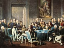 Group of people sitting in a meeting, Congress, Vienna, Austria