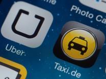Handy-App 'Uber'