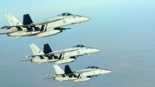 US Air Strikes in Syria