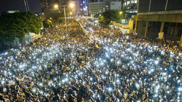 Demokratiebewegung Proteste in Hongkong