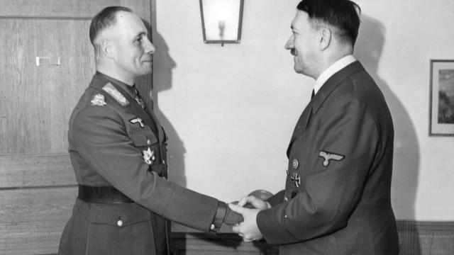 Adolf Hitler und Erwin Rommel, 1942