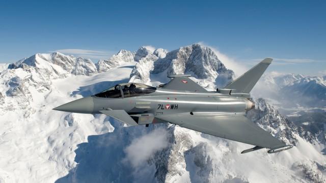 Eurofighter sichern Luftraum bei Weltwirtschaftsforum Davos