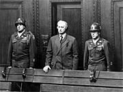 Friedrich Flick im Nürnberger Industriellen-Prozess