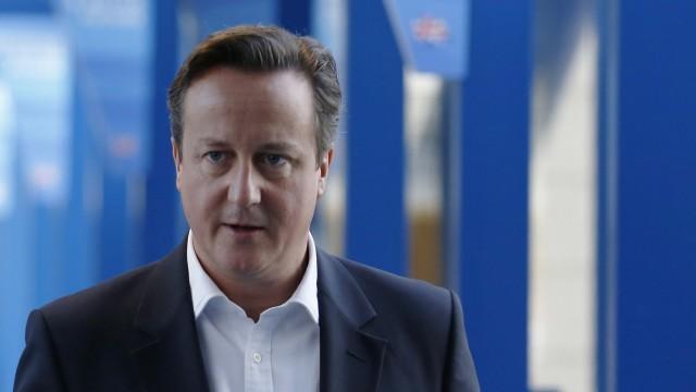David Cameron beim Parteitag der Tories