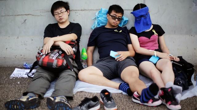 Proteste in Hongkong Proteste für mehr Demokratie
