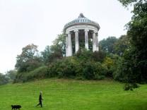 MONOPTEROS WIRD RESTAURIERT SÖDER STELLT KONZEPT VOR im Englischen Garten