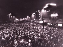 70,000 PEOPLE TOOK PART AT A DEMONSTRATION AGAINST THE COMMUNIST REGIME IN LEIPZIG