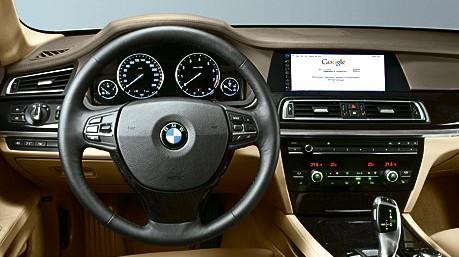 Armaturen auto  BMW 7er neu - Auch innen besinnt man sich - Auto & Mobil ...