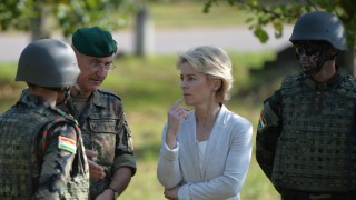 Germany Trains Peshmerga Fighters To Use Milan Weapon