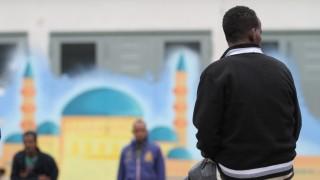 Flüchtlinge in der Bayernkasern