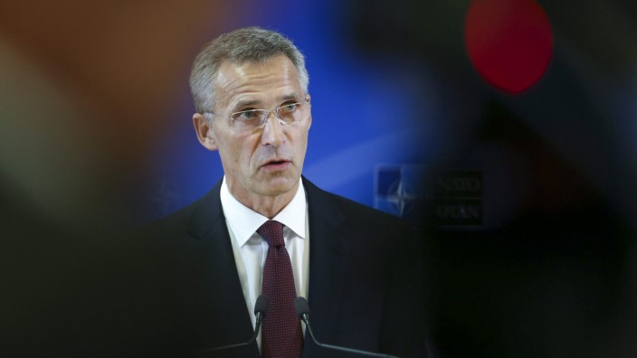 New NATO Secretary General Jens Stoltenberg takes office