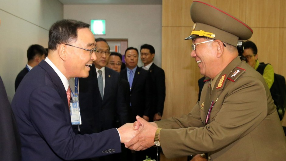 Senior North Korean officials make visit to South