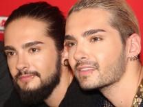 Tom und Bill Kaulitz (rechts) von Tokio Hotel.