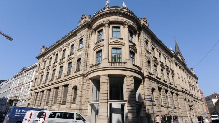HypoVereinsbank Gebäude in der Münchner Innenstadt, 2011