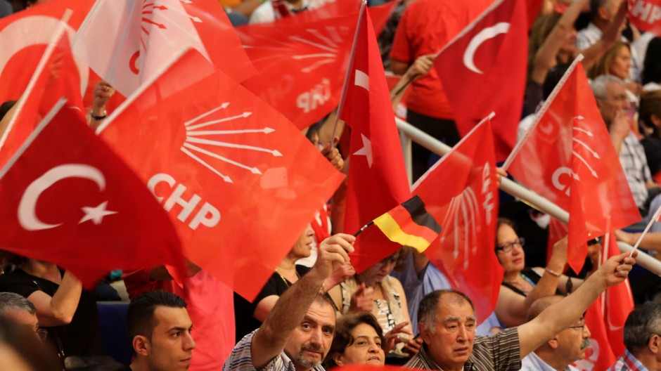 Türkische Oppositionspartei