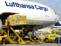 Lufthansa-Cargo-Flugzeug