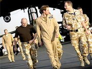 Prinz William in Kandahar, AP
