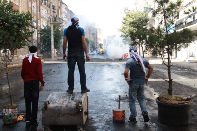 Clashes for Islamic State in Turkey