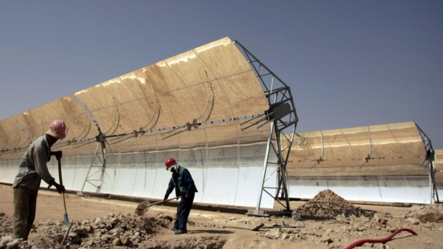 Solar-Energie in Maghreb