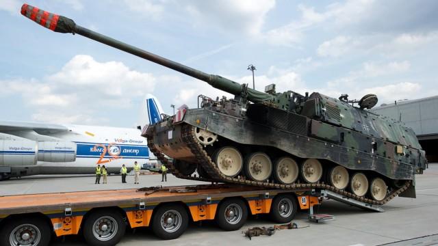 Krauss-Maffei Wegmann: Panzerhaubitze 2000