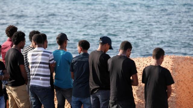 Flüchtlinge Flucht in die EU