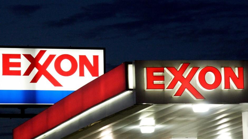 Exxon Mobil Verstaatlichte Förderprojekte