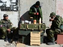 Prorussische Separatisten in der Ostukraine
