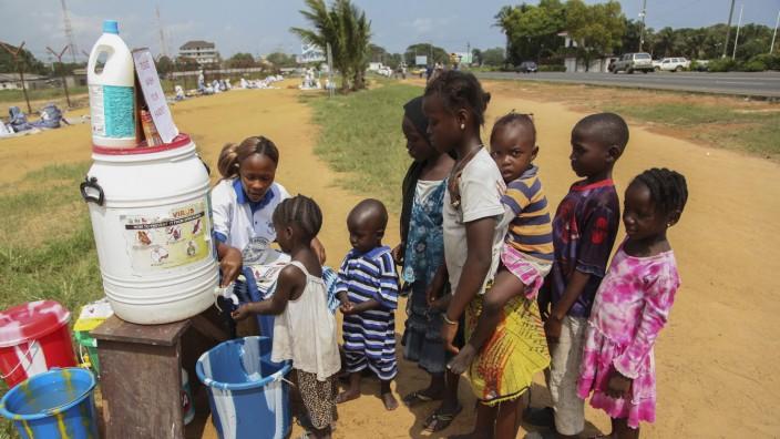 Kinder in Liberia