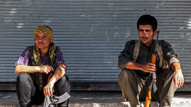 Inside The Besieged City Of Kobane