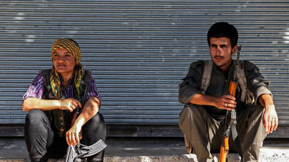 Inside The Besieged City Of Kobane