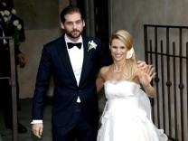 Michelle Hunziker and Tomaso Trussardi Wedding