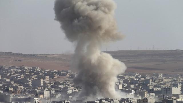 Islamic State seize Kobane security compound
